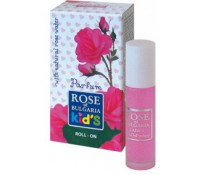 Детская парфюмерная вода (roll on) с натуральной розовой водой.