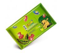 Детские влажные салфетки Лавена с натуральным маслом парикового дерева.
