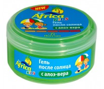 Africa Kids Гель после солнца с алоэ-вера, 200мл (Ф-409)