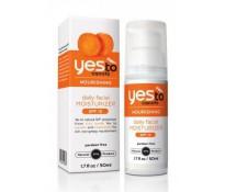 Yes To Морковный Ежедневный Увлажняющий крем для лица Nourishing Daily Facial Moisturizer SPF15.