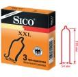 Презервативы Sico XXL увеличенного размера 3 шт.