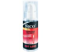 Гель-лубрикант Sico HOT LOVE согревающий c дозатором 100 мл