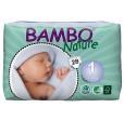BAMBO Nature Подгузники детские для новорожденных размер 1 (2-4 кг), 28шт