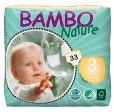 BAMBO Подгузники детские Midi размер 3 (5-9 кг), 33шт