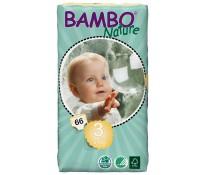 BAMBO Подгузники детские Midi размер 3 (5-9 кг), 66шт эконом упаковка