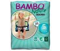 BAMBO Подгузники-трусики детские Junior (12-22 кг), 20шт