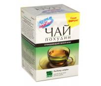 Худеем за неделю Чай Похудин очищающий комплекс Зеленый чай, 30х2г