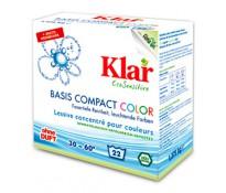 KLAR Порошок для стирки цветного белья, 1375г