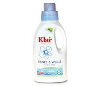KLAR Жидкое средство для стирки деликатных и шерстяных тканей, 500мл